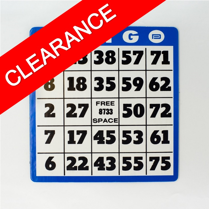 Bingo Cards - Clearance