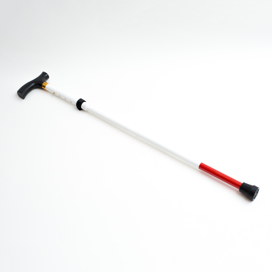 Ambutech folding support cane with handle
