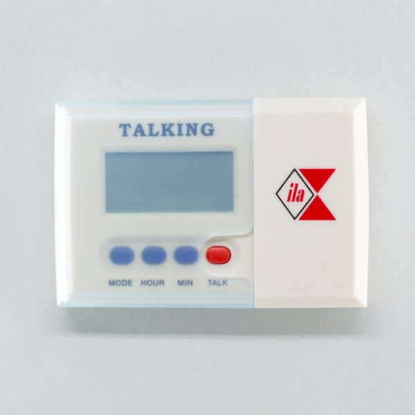 Pocket size talking clock with removal case