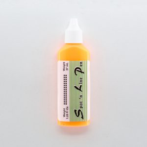 37ml bottle of orange spot'n'line tactile dot marker