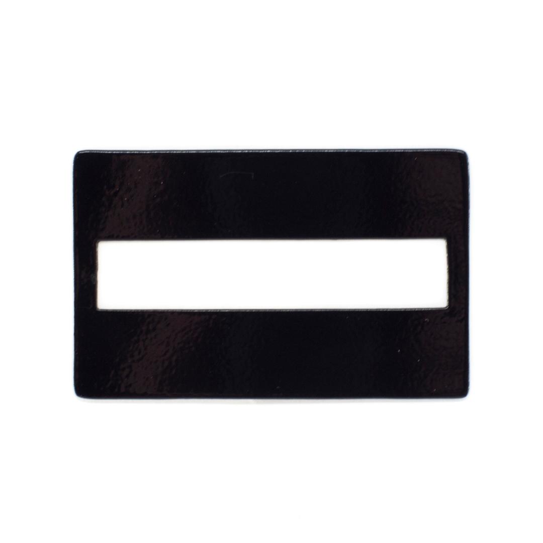 Black pastic signature guide