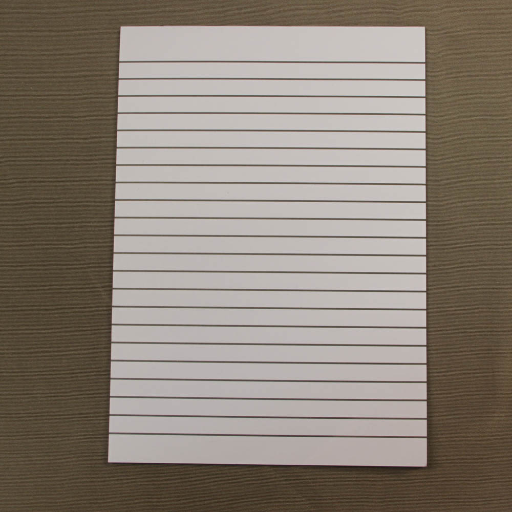 A4 size bold line pad 12mm gap between lines 50 sheets for Liner diametre 4 50
