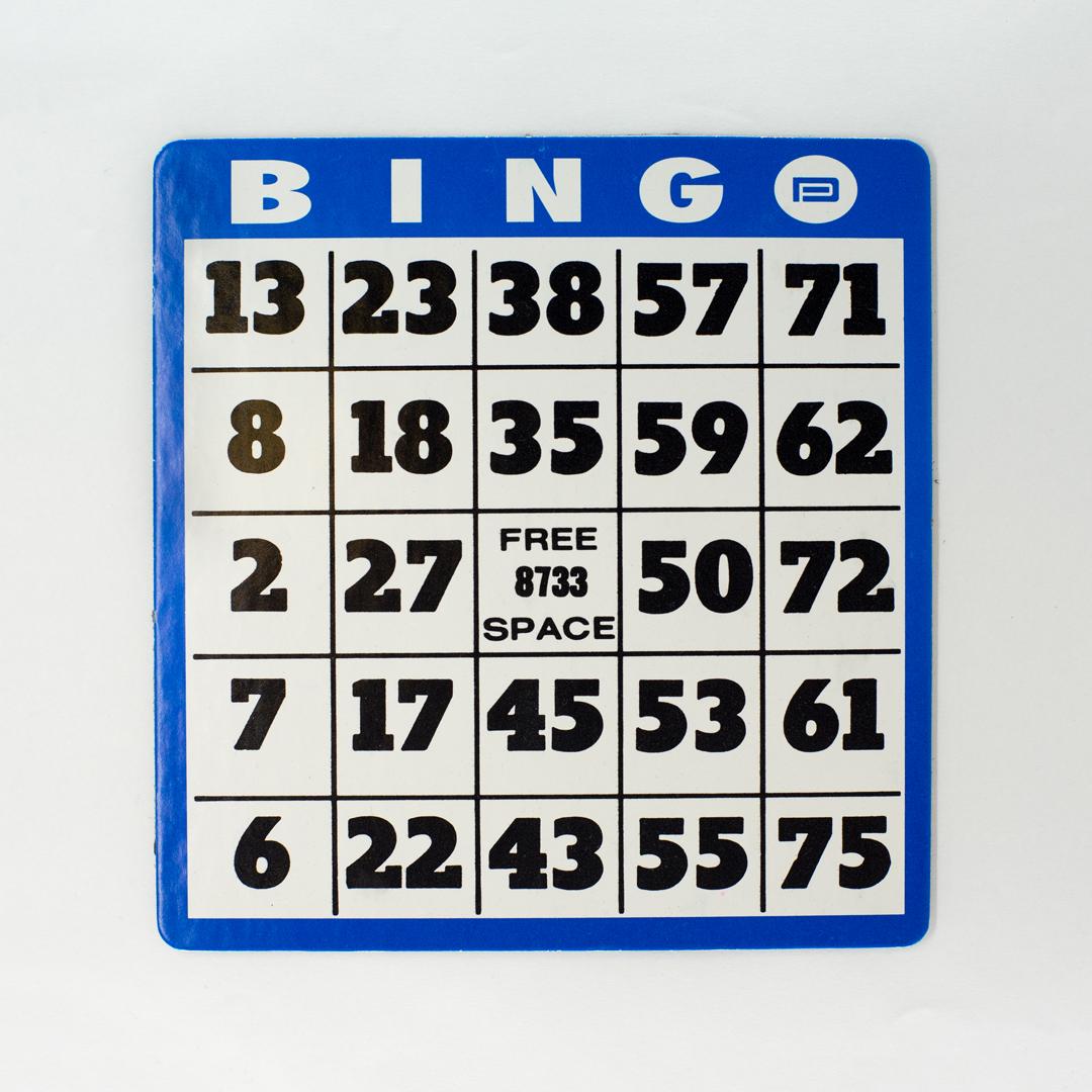Large Print Bingo
