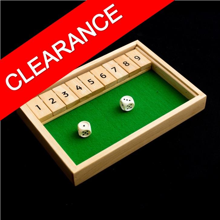 Shut the Box - Clearance