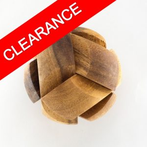 Wooden Ball Puzzle - Clearance