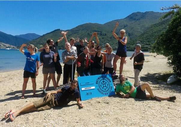 Insight Outward Bound 2016 group photo