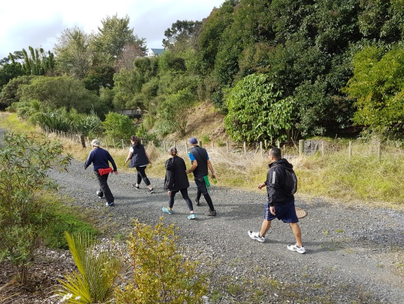 Photo of striders walking group on a walk