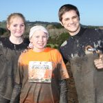 Getting muddy at the Tough Guy and Gal Challenge