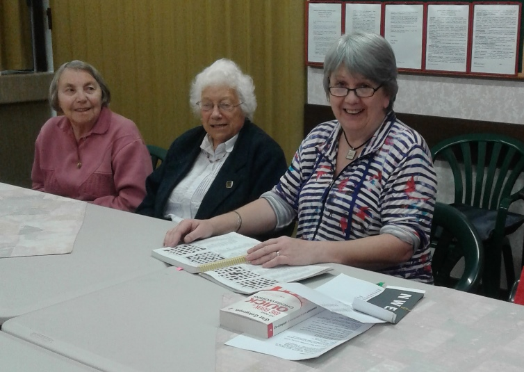 Photo of Jayne at the Friday Friendship group in Tauranga