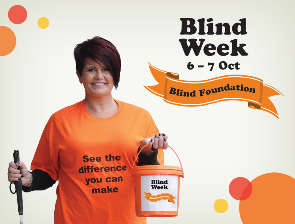Blind Week street collection Friday 6 and Saturday 7 October