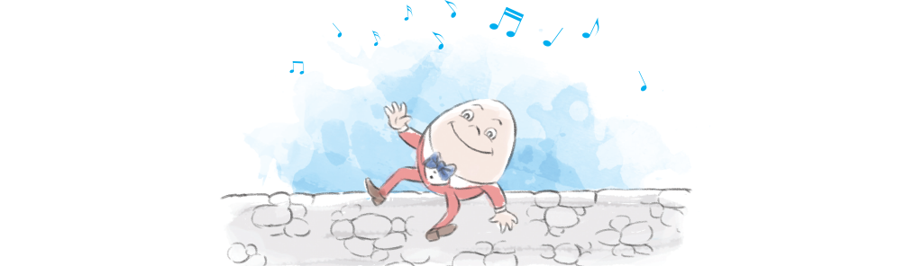 Illustration of Humpty Dumpty