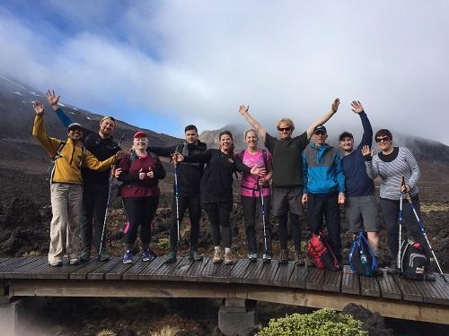 7 Day Challengers on Mt Tongariro