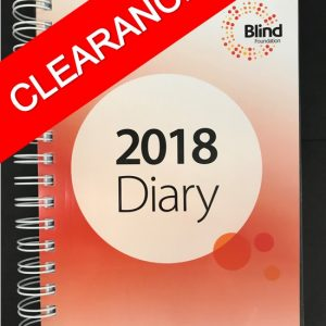 2018 spiral bound A5 Diary