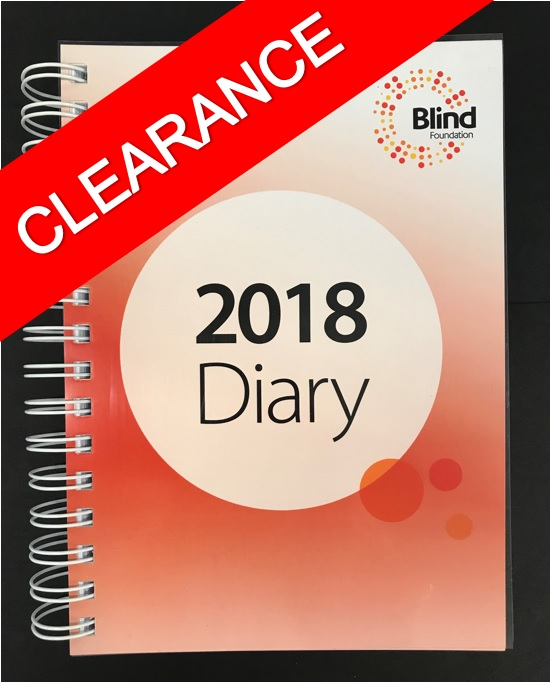 2018 spiral bound A5 Diary