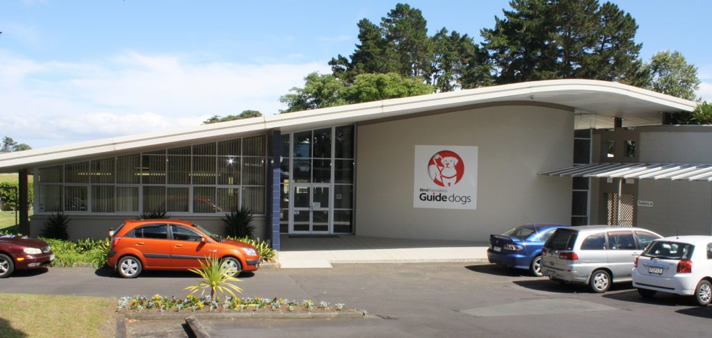 guide dogs centre building in manurewa