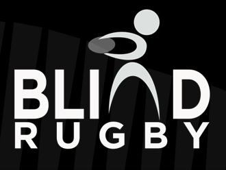 Image shows the Blind Rugby logo