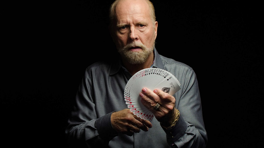 blind card magician Richard Turner