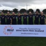 New Zealand Blind Rugby team makes history with first ever international test match.