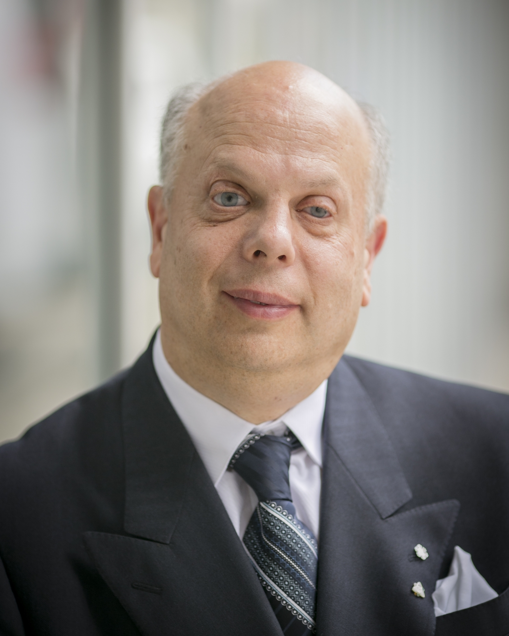 Image shows David Lepofsky in a suit.