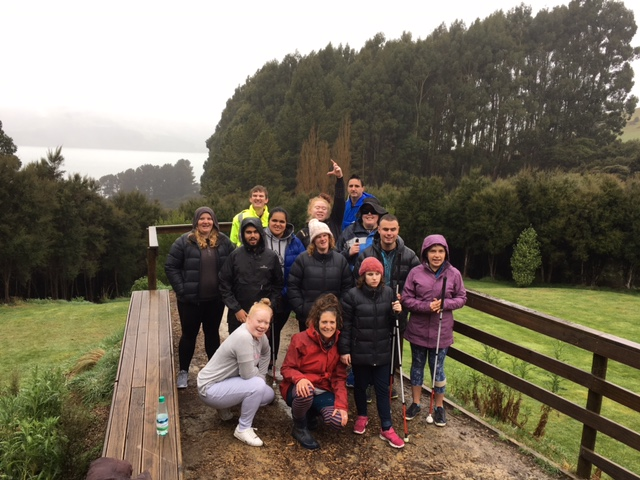 Image shows the Youth SEED participants in the countryside.