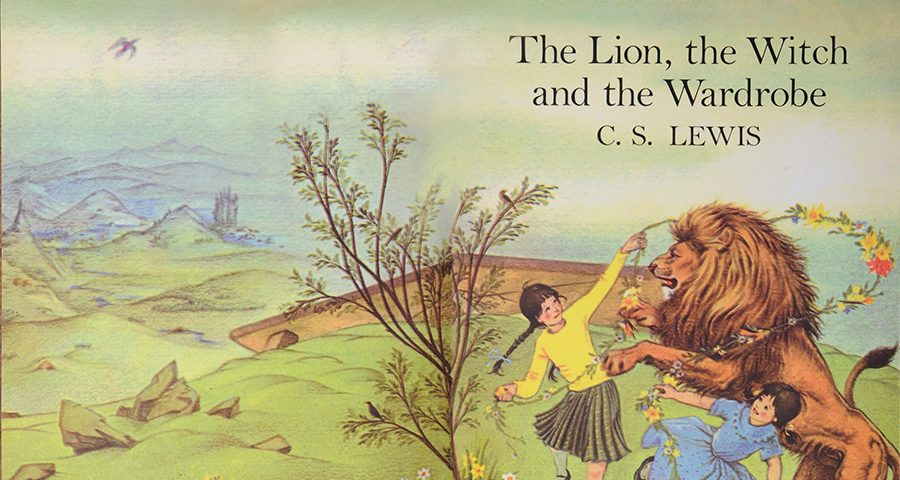 The cover of The Lion, the Witch, and the Wardrobe