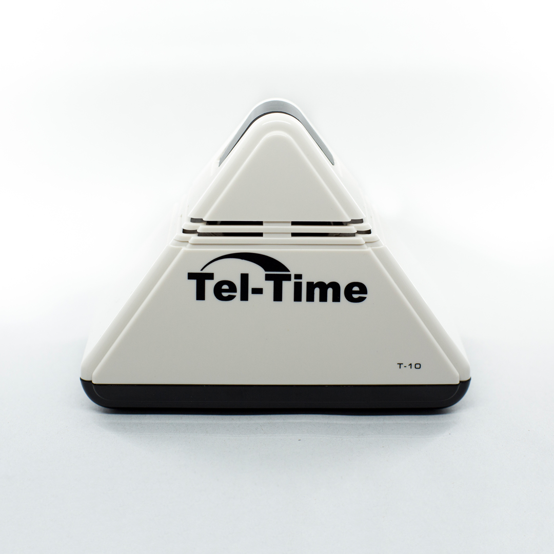 Talking pyramid shaped alarm clock - Blind Foundation