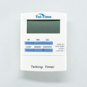 Tel-Time talking timer