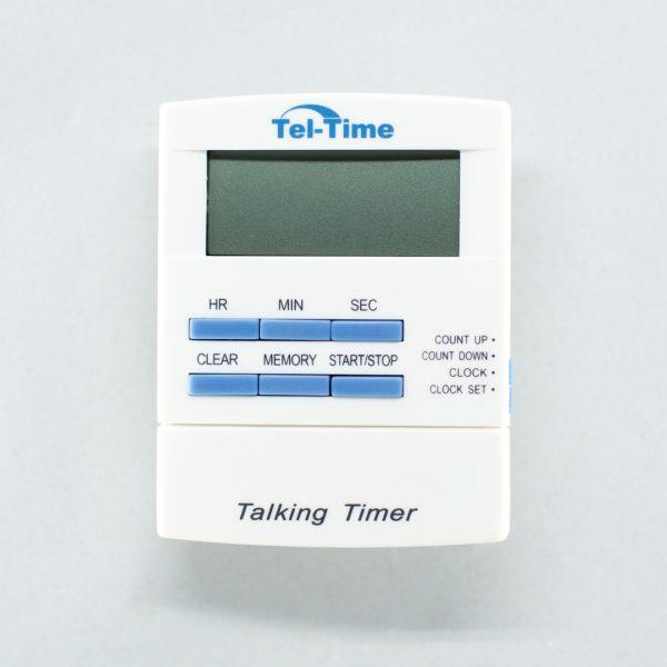 Tel-Time talking timer