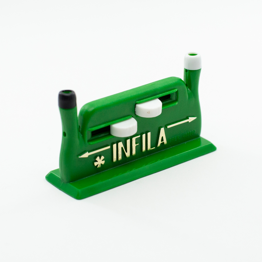 Green automatic needle threader