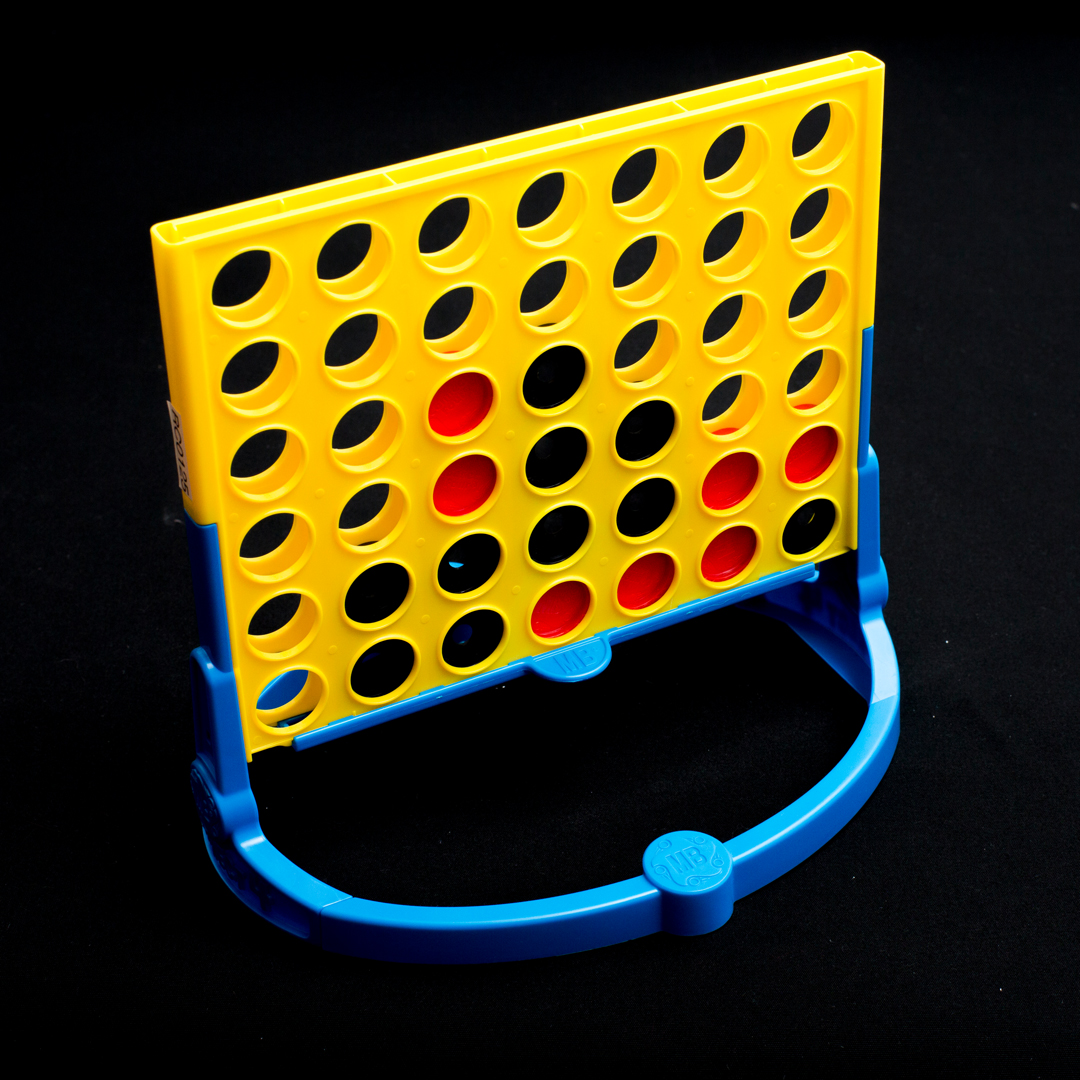 A game tactile connect four