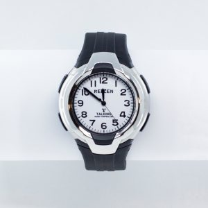 Large sports watch with talking feature