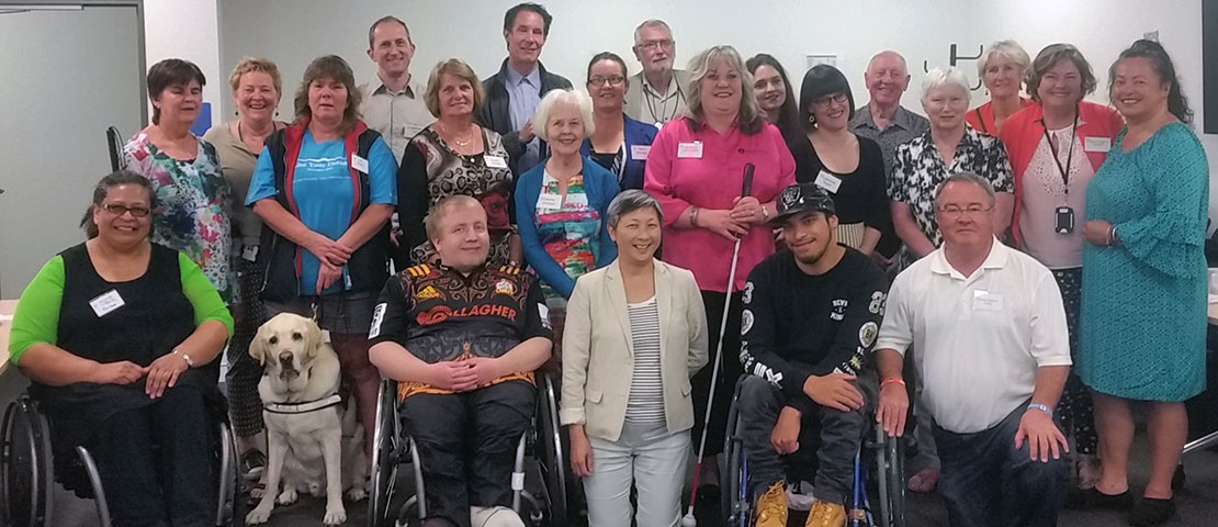 Access Alliance training group in Wellington