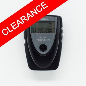 Talking pedometer for counting your steps