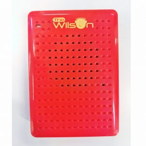 The Wilson Voice Recorder without its black carry pouch