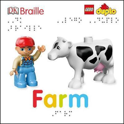 DK Braille LEGO Farm Book