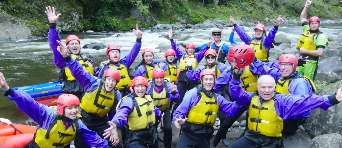 water rafting 7 day challenge in 2017