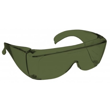 Image showing a pair of 9% Grey-Green Medium Plastic Fitovers