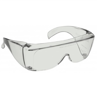 Image shows a pair of 63% Grey Medium Plastic Fitovers