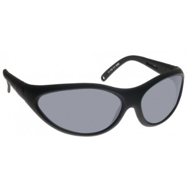 Image showing a pair of 28% Grey lens sunglasses with black frames