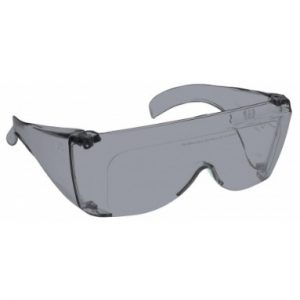 Image showing a pair of 28% Grey large plastic fitovers