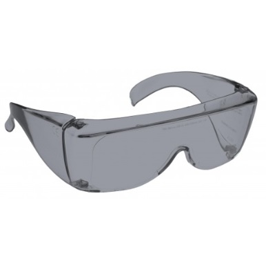 Image showing a pair of 28% Grey Medium Plastic Fitovers