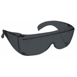 Image showing a pair of 11% Grey Medium Plastic Fitovers