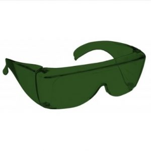 Image showing a pair of 5% grey-green medium plastic fitovers
