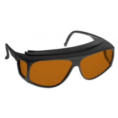 Image showing a pair of 18% Amber extra large fitover sunglasses