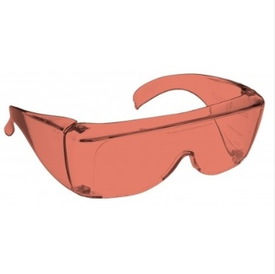 Image showing a pair of 44% Amber medium plastic fitovers