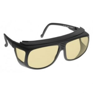 Image showing a pair of 64% Amber small fitover sunglasses
