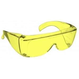 Image showing a pair of 88% Yellow medium plastic fitovers