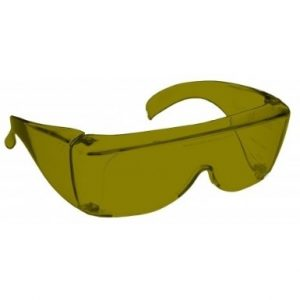 Image showing a pair of 22% Yellow medium plastic fitovers