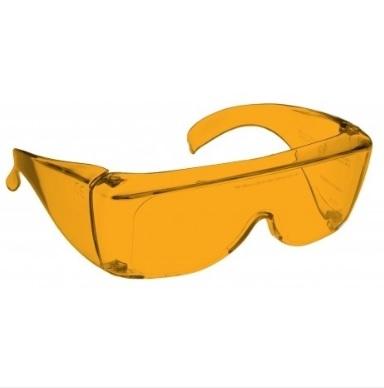 Image shows a pair of 48% Orange Medium Plastic Fitovers