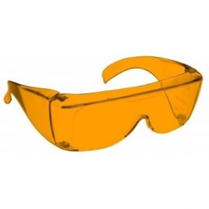 Image showing a pair of 64% Orange Medium Plastic Fitovers